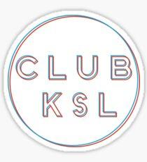 CWRU Club KSL Sticker Sticker