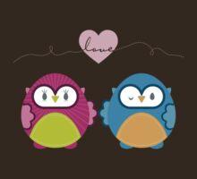 OWLS IN LOVE :: bright