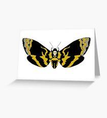 Cabeza de la Muerte Hawk Moth Tarjeta de felicitación