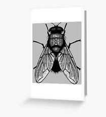 Harbinger Fly Greeting Card