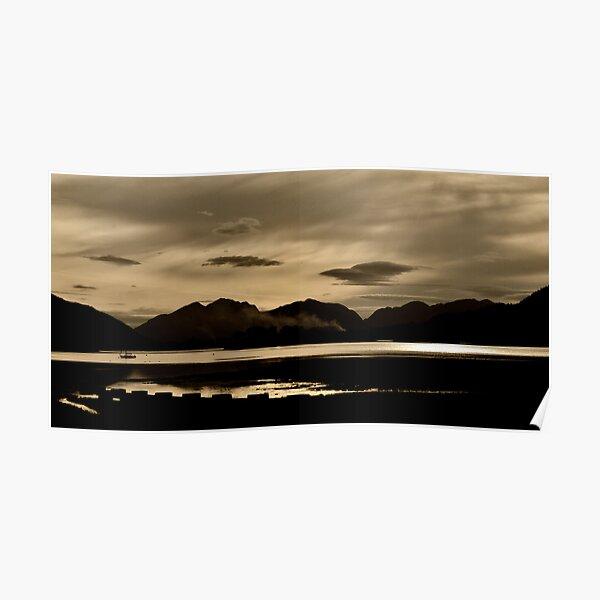 Across Loch Leven Poster