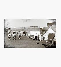 Colonial Scots Encampment Photographic Print