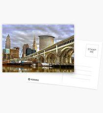 Detroit Superior Bridge Cleveland, Ohio Postcards