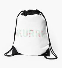 okurrr Drawstring Bag