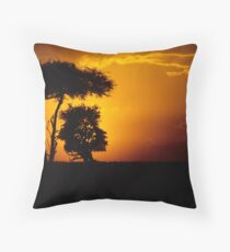 Mara sunset Throw Pillow