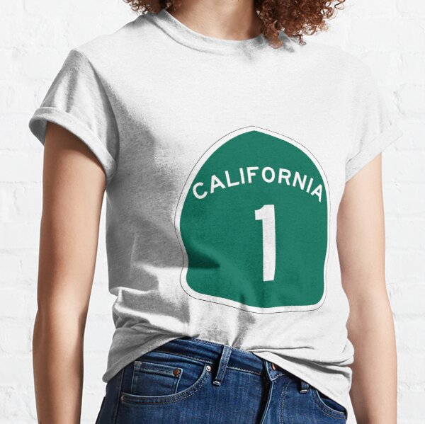 California State Route 1 Classic T-Shirt