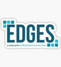 Carmel High School CHS Edges Fall Musical Sticker