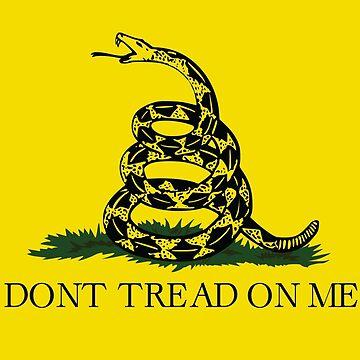 Gadsden Flag by stoopiditees