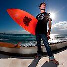 Surfer by Garry Schlatter