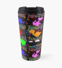 Rainbow Raindrops, A Dinosaur Mystery, The Books of Yawns, Adventure 6 friends Travel Mug