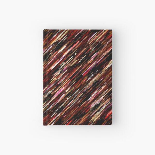 Diagonale Farbstreifen Notizbuch