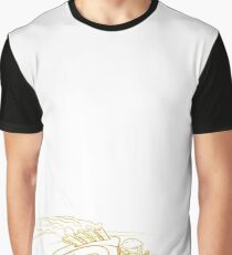 Racing Lines Graphic T-Shirt