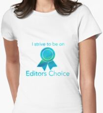 Editors Choice Women's Fitted T-Shirt