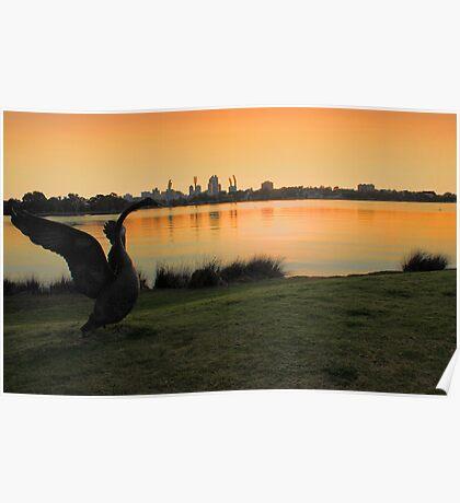 Swan River - Perth Western Australia   Poster