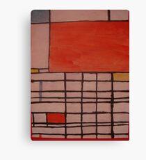 Piet Mondrian by Kaser Canvas Print