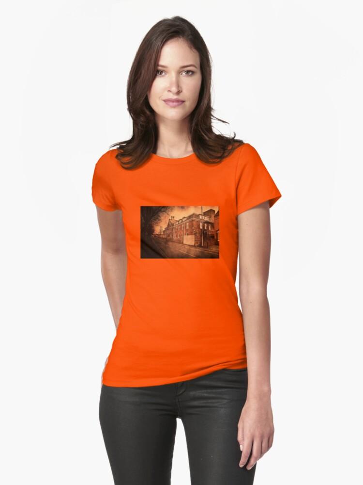 c28fbcf44d Camisetas entalladas para mujer «Salsa Lea y Perrins Worcester» de ...