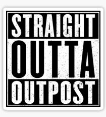 Realm Royale - Straight Outta Outpost Sticker