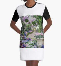 Conservatory - Fitzroy Gardens Graphic T-Shirt Dress
