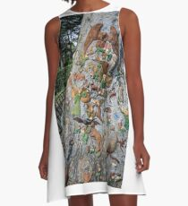 The Fairies Tree - Fitzroy Gardens A-Line Dress