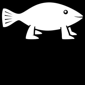 Pioneer Fish [original B&W] by BakedBunny