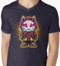 Drift Chibi Men's V-Neck T-Shirt
