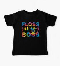 Floss Like A Boss Tie Dye Baby Tee