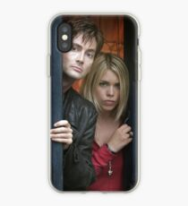 Doctor Who - Ten and Rose iPhone Case