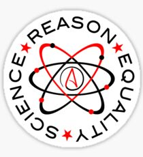 Science Reason Equality  Sticker