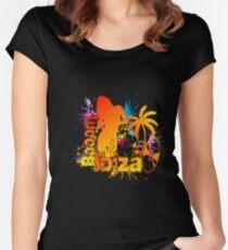 Booom Ibiza Women's Fitted Scoop T-Shirt