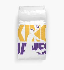 King James Lakers Duvet Cover