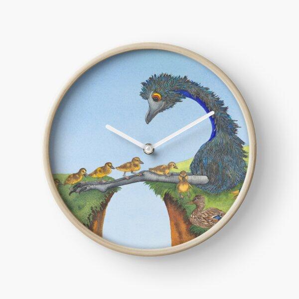 Duck Crossing Clock