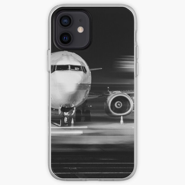 gros plan avant avion Coque souple iPhone