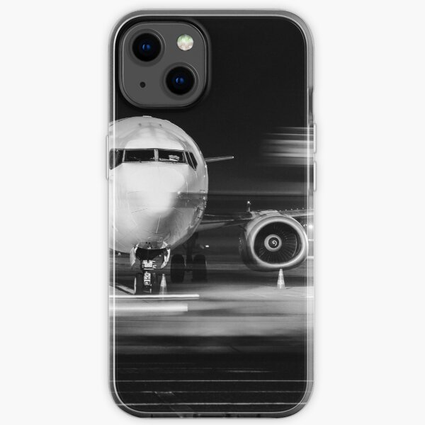 airplane front close-up iPhone Soft Case