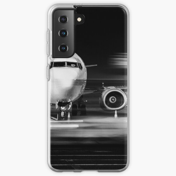 airplane front close-up Samsung Galaxy Soft Case