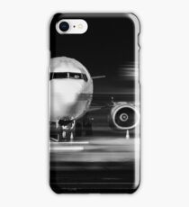 airplane front close-up iPhone Case/Skin