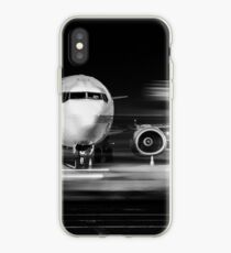 airplane front close-up iPhone Case