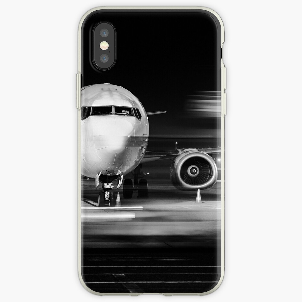 Flugzeugfront Nahaufnahme iPhone-Hülle & Cover