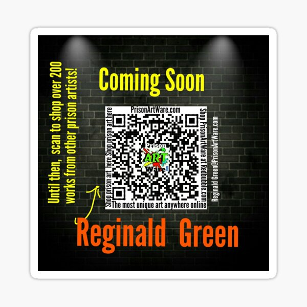Reginald Green Sticker