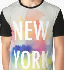 NEW YORK watercolor decor Graphic T-Shirt