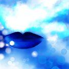 Blaue Küsse, Blue Kisses von Christine Krahl