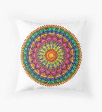 Floral Mandala - Joy Throw Pillow
