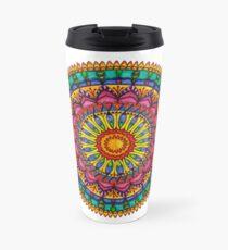 Floral Mandala - Joy Travel Mug