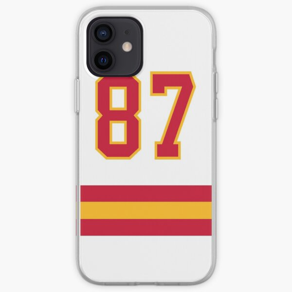 Kansas City Football - Away Number 87 iPhone Soft Case
