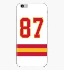 Kansas City Football - Away Number 87 iPhone Case