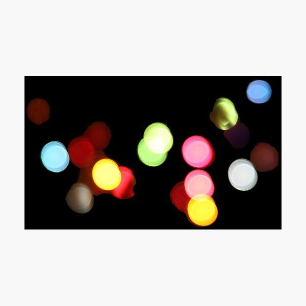 Blurred Lights  Photographic Print