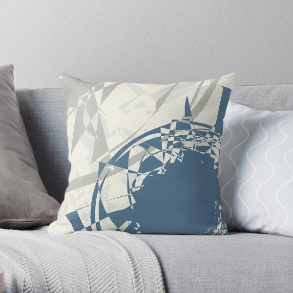 Four Colours - Bold Crash //  Throw Pillow