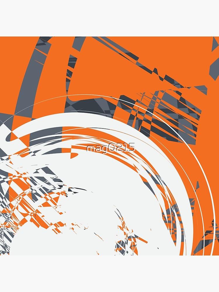 Orange Grey by mag0215