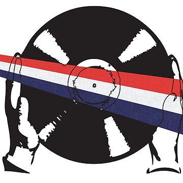 Dutch Flag Vinyl by McFrys