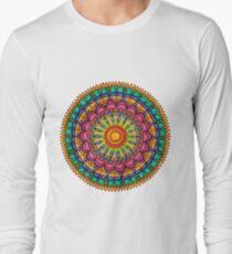 Floral Mandala - Joy Long Sleeve T-Shirt
