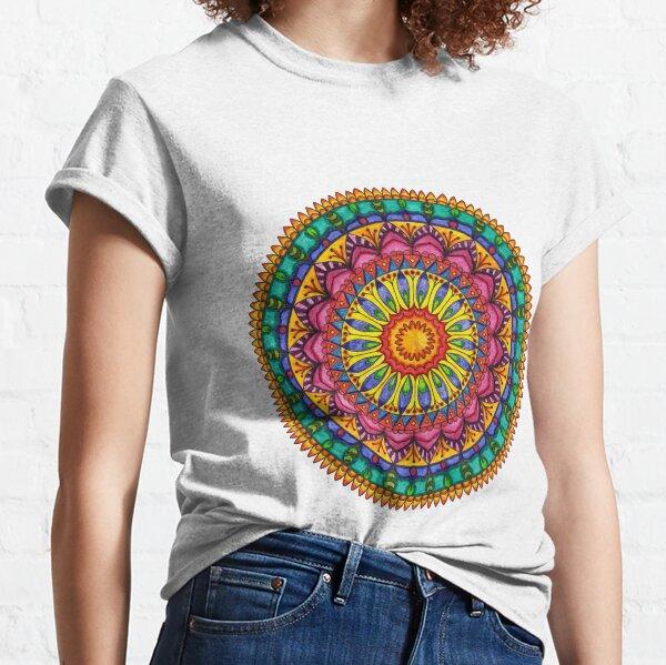 Floral Mandala - Joy Classic T-Shirt